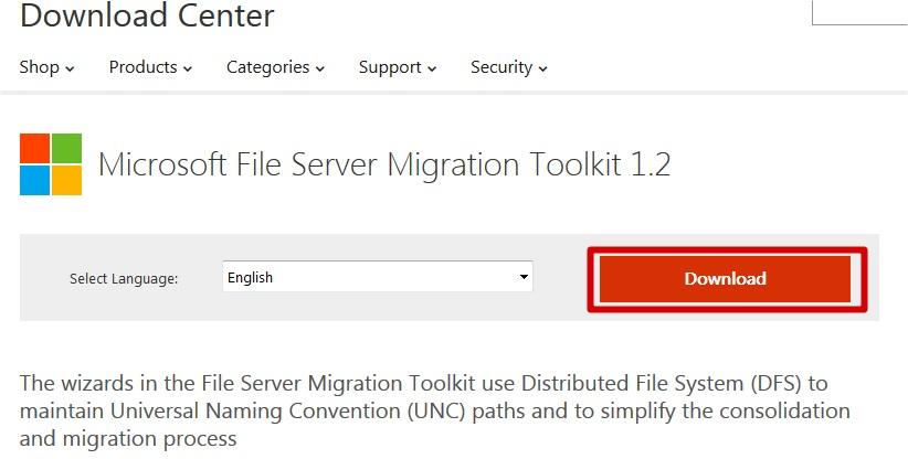 TUTOS EU : Migration d'un serveur de fichiers avec Microsoft