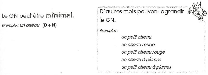 TUTOS.EU : Le groupe nominal (reference 2380)