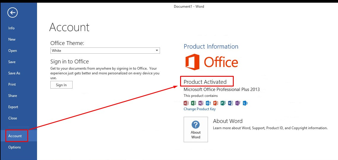 Comment savoir si ms office 2010 est active - Activation office 2013 sans telephone ...