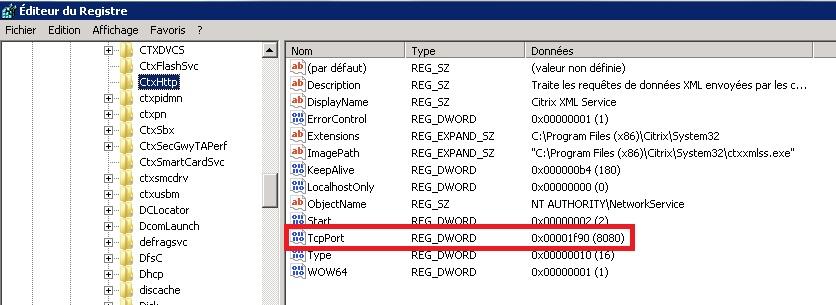 TUTOS EU : Modifier le port XML d'un serveur Citrix XenAp