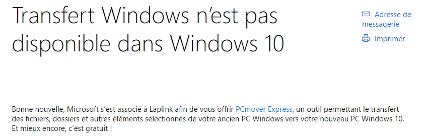 dossier stockage messagerie windows 10